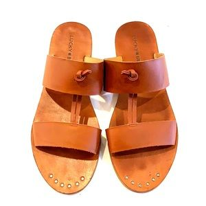 Lucky Brand slide sandals 8.5